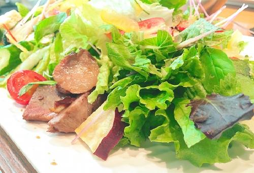 小松菜 サラダ 切り方