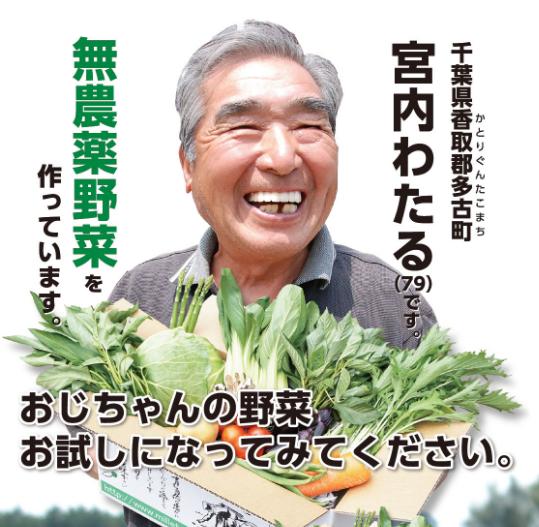 ミレー 宅配野菜