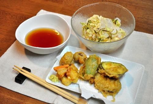 みょうが 天ぷら カロリー 揚げ時間 コツ