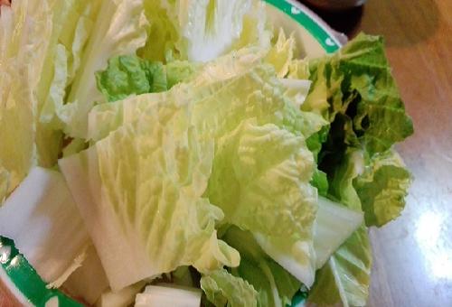 白菜 ゴマ症 味