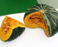 かぼちゃ 加熱 甘み 栄養