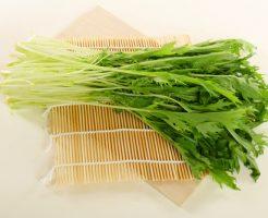 水菜 栄養 調理 方法