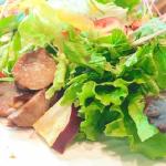 小松菜のサラダ!切り方は?