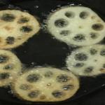レンコンと片栗粉の組み合わせ!揚げる料理と焼く料理とは?